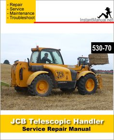 download jcb 532 120 telescopic handler service repair manual jcb rh pinterest com JCB 550 Operators Manual JCB 550 Operators Manual