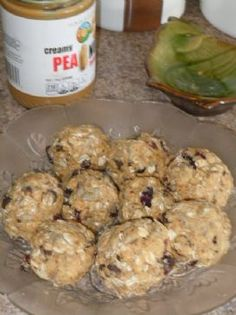 No-Bake Oatmeal Protein Balls Recipe via @SparkPeople  uses milk and less peanut butter