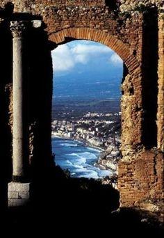 Taormina, Sicily, Italy by Caroline C. ❦