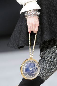 Fall Winter 2013 Chanel globe bag