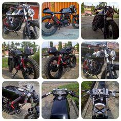Cafe Racer MP 200I by BB Trail Racing Shop Bangko provinsi Jambi Indonesia