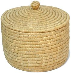 The Arctic People - basket made of Arctic grasses
