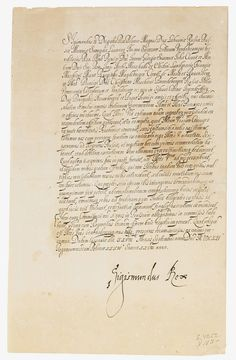 Letter of Sigismund III Vasa, September 28, 1621 (PD-art/old) in Warsaw, Private collection