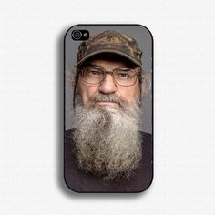 Uncle Si Robertson Duck Dynasty Iphone 4 4s by Thecasesbg on Etsy