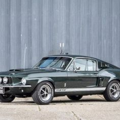 1967 FORD SHELBY MUSTANG GT500 FASTBACK COUPÉ
