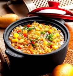 Vegetable Stew with Lentils
