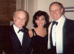 Patricia Mauceria with Gene Hackman and Richard Dreyfuss on Broadway: Death and The Maiden