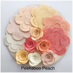 Packs of 12 Large Roses Felt Flower Packs Wool Blend Felt Etsy Uk, Bank Holiday, All Flowers, Wool Felt, Wool Blend, Craft Supplies, Roses, Packing, Handmade
