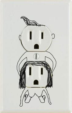 Oh my! Perverted electrical outlets!