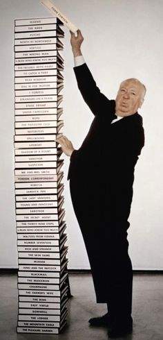 Alfred Hitchcock - I can't begin to name all of his great movies - Rear Window, The Birds, North by NW