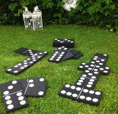 giant dominoes for backyard family fun