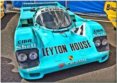 "1987 Kremer ""Leyton House"" Porsche 962C Group C Car."