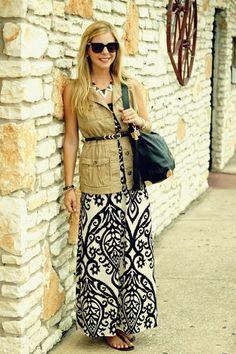 Long dress jacket 2 magazine
