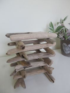 """Driftwood Offer - 20 Straight & Sturdy Craft Driftwood Sticks. 7"""" Driftwood Pieces Beach Find Driftwood Supplies by LonelyBeach on Etsy"""
