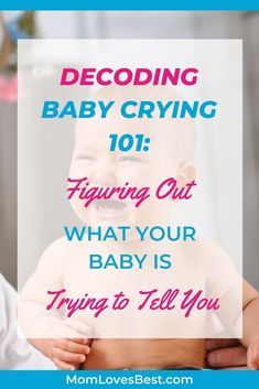 Tired of your baby crying and you not understanding what they need? We're here to help with our decoding baby crying guide. Newborn Baby Tips, Newborn Care, Reflux Baby, Parenting Fail, Single Parenting, Baby Schedule, New Parent Advice, Infant Activities, Family Activities