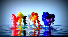 wallpaperloves.com — 3D Abstract Color Paint Art Hd Wallpaper Image...