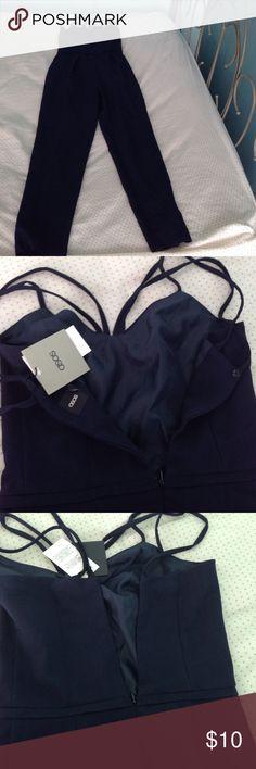 ASOS jumpsuit navy blue ASOS ASOS Pants Jumpsuits & Rompers