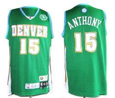 Anthony Jersey, Denver Nuggets #15 Swingman Green NBA Jersey  Price :$20ID :2390