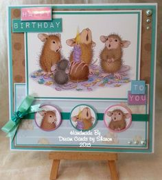 House Mouse cardmaking pad from Joanna Sheen x House Mouse Stamps, Mouse Pictures, Penny Black Stamps, Scrapbooking, Animal Cards, Watercolor Cards, Copics, Greeting Cards Handmade, Handmade Christmas