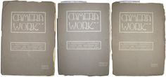"""Three Issues of """"Camera Work"""", Alfred Stieglitz (1864-1946) Issue Nos. 7, 15 and 18, comprising 29 photogravures by various photographers"""