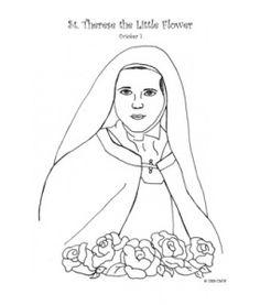 catholic faith education coloring page saint ignatius of loyola catholic school house preschool pinterest