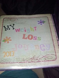 I am so going to make me one of these. A healthier me journal