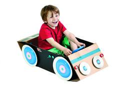 Vind en maak: Auto  Karton  Speelgoed / creatief