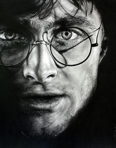 Harry Potter by casparofambrose on deviantART ~ actor Daniel Radcliffe ~ traditional pencil art