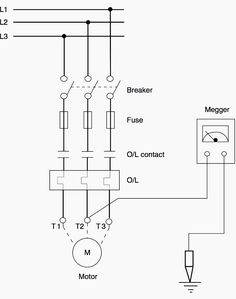 Control    Circuit    OF STAR DELTA STARTER Electrical Info PICS   NonStop Engineering in 2019