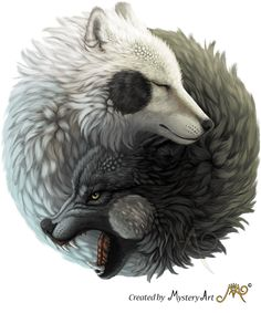 Yin Yang wolves by Sunima.deviantart on The post Yin Yang wolves by Sunima.deviantart on appeared first on hintergrundbilder. Ying Und Yang Tattoo, Dragon Yin Yang Tattoo, Yin Yang Tattoos, Wolf Tattoos, Animal Tattoos, Yin Yang Wolf, Ying Yang, Arte Yin Yang, Yin Yang Art