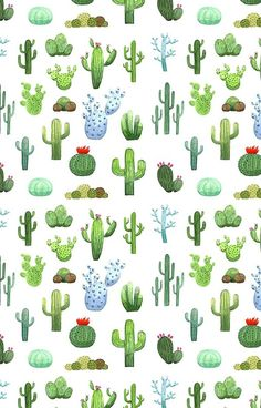 'Watercolor Cactus' Case/Skin for Samsung Galaxy by skrich - Kaktus Cactus Drawing, Cactus Painting, Watercolor Cactus, Cactus Art, Watercolor Animals, Cactus Flower, Watercolor Background, Watercolor Landscape, Abstract Watercolor