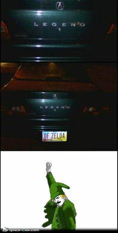 Legend of Zelda Funny | Legend of Zelda license plate ~ Funny pictures