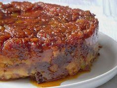 Pudding au pain de Noël Pudding Recipes, My Recipes, Sweet Recipes, Cooking Recipes, Portuguese Desserts, Portuguese Recipes, Portuguese Food, No Egg Desserts, Dessert Recipes