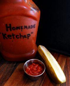 Homemade Spicy Ketchup (sugar free for special diets. Real Food Recipes, Diabetic Recipes, Yummy Food, Healthy Recipes, Yummy Treats, Healthy Kids, Healthy Living, Kefir, Kombucha