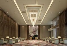 Photos of Sheraton Shanghai Jiading Hotel, Shanghai - Hotel Images - TripAdvisor Ceiling Design Living Room, Bedroom False Ceiling Design, Home Ceiling, Ceiling Decor, Interior Design Your Home, Interior Design Dubai, Hospital Design, Boutique Interior, Hotel Interiors