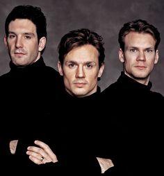 HOLY HOCKEY! Detroit's Hockey Gods, Brendan Shanahan, Steve Yzerman and Nick Lindstrom.