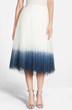 Bailey 44 'Sweet Pea' Dip Dye Skirt available at #Nordstrom