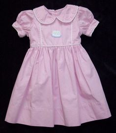 Strasburg Pink First Birthday Cake Party Dress One Candle Girls 12 Months