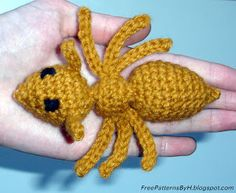 Free Patterns by H: Ant Amigurumi Pattern