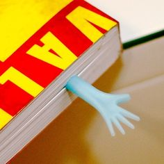 """Marcadores de página """"Dê uma mãozinha"""""""