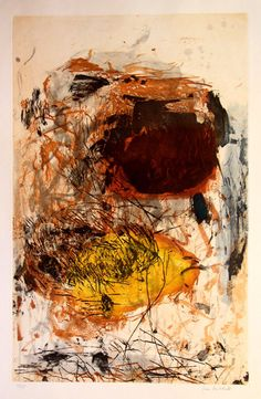 Joan Mitchell, Sunflower III