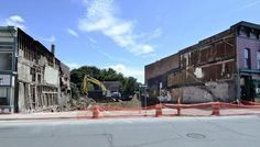 Fire chief stands behind decision to demolish King Street buildings - troyrecord.com Buildings, Street View, Fire