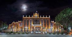 #Sa'at #Tower also known as #Tabriz #Municipality #Palace is the city #hall and main #office of the municipal #government of Tabriz East #Azarbaijan Province #Iran. #iranwiki #عمارت #شهرداري #تبريز در استان #آذربايجان شرقي یکی از بناهای #زیبا مستحکم و دیدنی شهر تبریز است که در سال  خورشیدی و به دستور #رضاشاه #پهلوی در محل گورستان متروک و مخروبه کوی نوبر بانظارت مهندسان آلمانی و در زمان ریاست شهرداری حاجارفعالملک جلیلی بنا شد. کاخ شهرداری تبریز در مرکزیترین نقطه شهر تبریز و در میدان شهرداری…