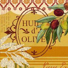 Olive Presse Huile by Jennifer Brinley   Ruth Levison Design