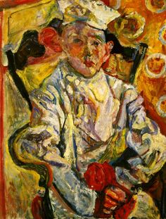 Chaim Soutine (1910-1943)   Le Petit patissier. (The small pastry cook)
