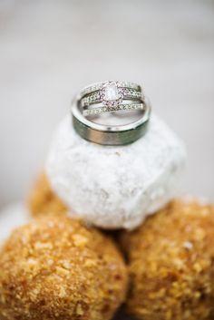 vintage engagement ring // wedding rings