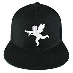Black Lost Angels   Kings Cupid Snapback Hat  lostangelsandkings  snapback   hat  headwear · SnapbackAngelsLostAngelSnapback HatsAngelfishBaseball Hat 44a886f22197
