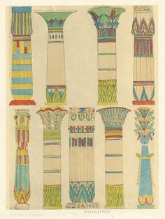 Egyptian columns