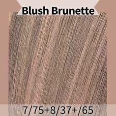 Wella blush Brunette formula