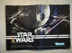 ORIGINAL Vintage Star Wars Vinyl Cape Robe Accessory Part Kenner NO REPRO 1977